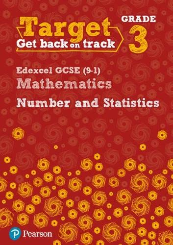 Target Grade 3 Edexcel GCSE (9-1) Mathematics Number and Statistics Workbook By Diane Oliver