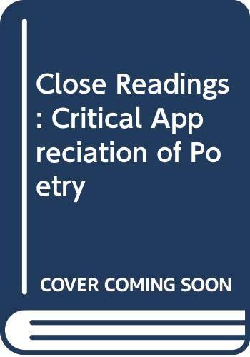 Close Readings By Arthur Finley Scott