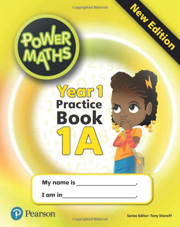 Power Maths Year 1 Pupil Practice Book 1A
