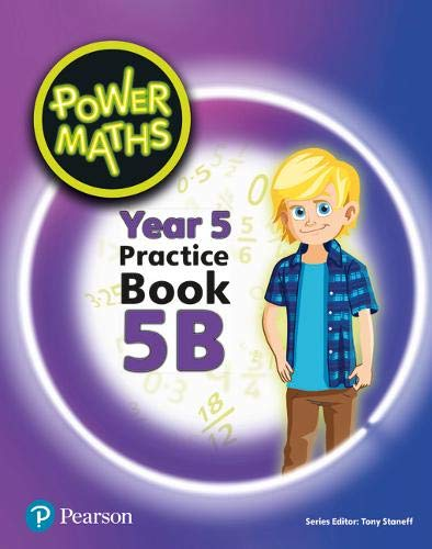 Power Maths Year 5 Pupil Practice Book 5B | Used - Very