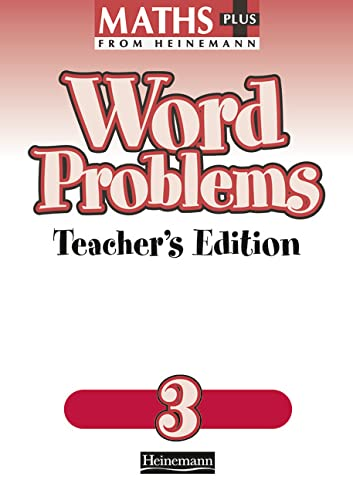 Maths Plus Word Problems 3: Teacher's Book By L.J. Frobisher