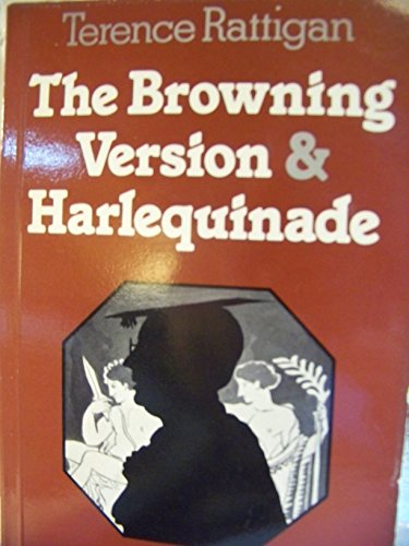 Browning Version & Harlquind Hps 1 By Terence Rattigan