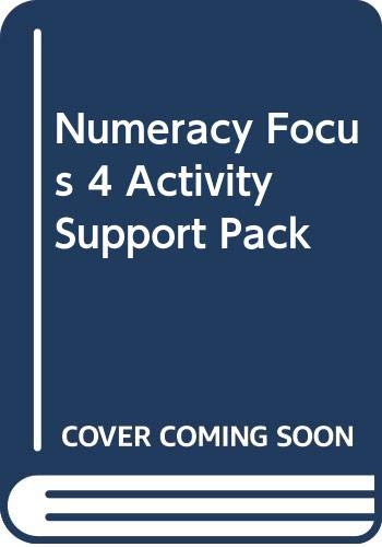 Numeracy Focus 4 Problem of the Week Photocopy Masters By Mike Askew