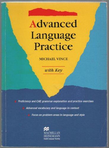 Advanced Language Practice Key By Vince Michael