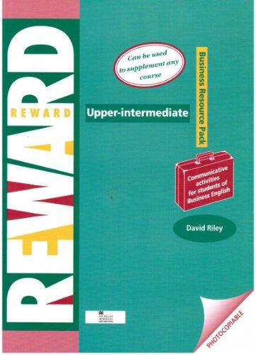 Reward: Upper Intermediate: Business English by David Riley