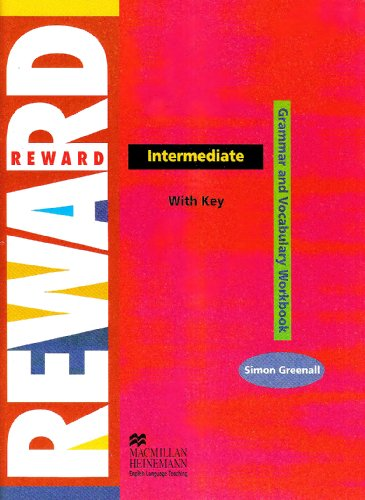 Reward Int Vocab & Grammar WB + Key By Simon Greenall