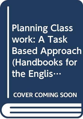 Planning Classwork By Sheila Estaire