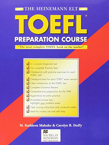 Hein ELT Toefl Prep Course +key 2nd Ed By M. Mahnke
