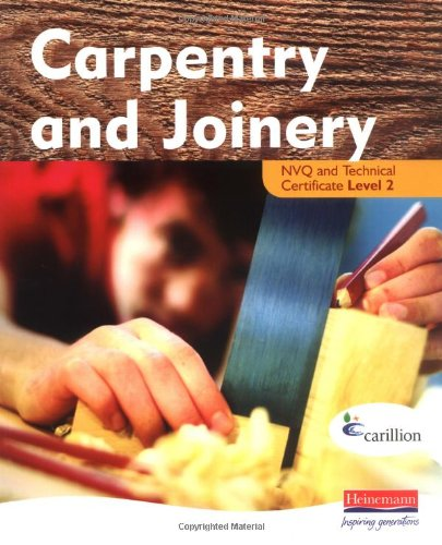 Carpentry and Joinery NVQ Level 2 Paperback Book The Cheap Fast Free Post
