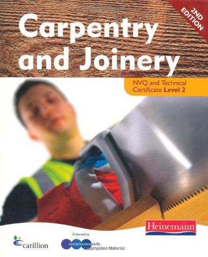 Carpentry and Joinery NVQ Level 2 Candidate Handbook 2nd Edition By Kevin Jarvis