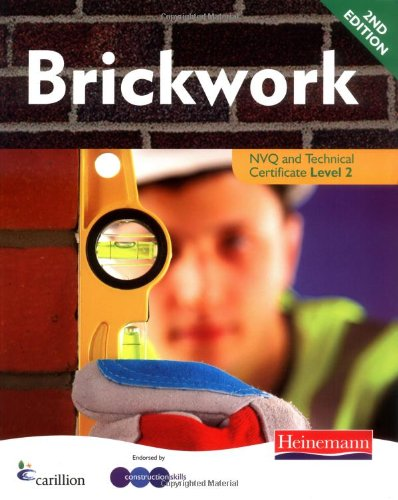 Brickwork NVQ: Level 2 : Candidate Handbook by Dave Whitten