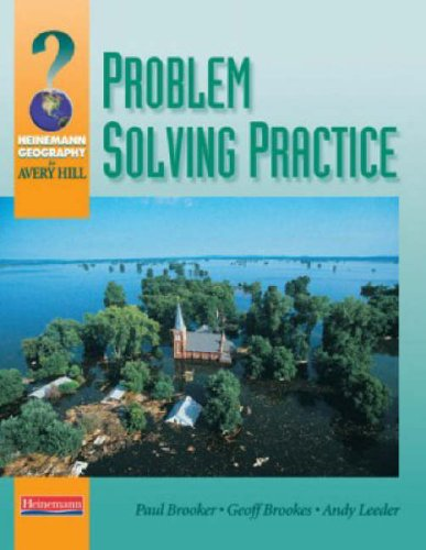 Problem Solving Practice for Avery Hill By Paul Brooker
