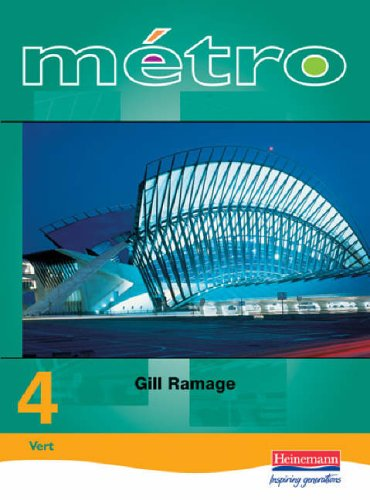 Metro 4 Foundation Student Book Revised Edition By Gill Ramage