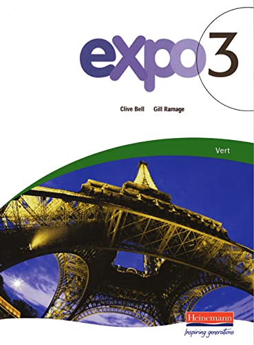 Expo 3 Vert Pupil Book By Clive Bell