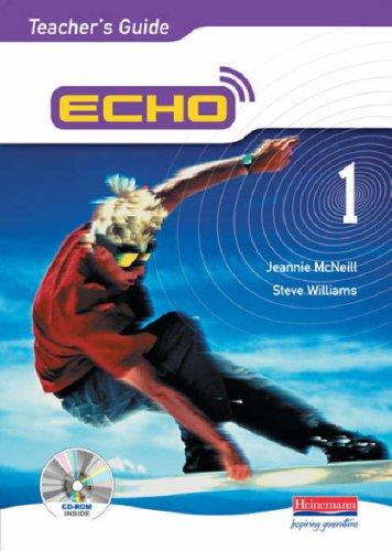 Echo 1 Teacher's Guide + CDROM By Steve Williams