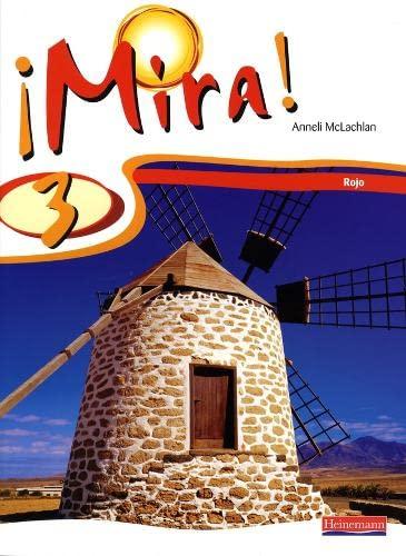 Mira 3 Rojo Pupil Book By Anneli McLachlan