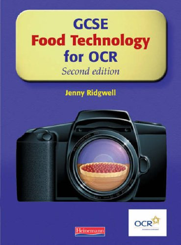 GCSE Food Technology for OCR: Student Book, By Jenny Ridgwell