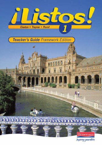 Listos 1 Framework Edition Teachers Guide By Edited by Charles Claxton