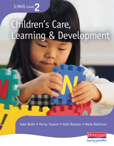 NVQ Level 2 Children's Care, Learning and Development:  Candidate Handbook by Penny Tassoni