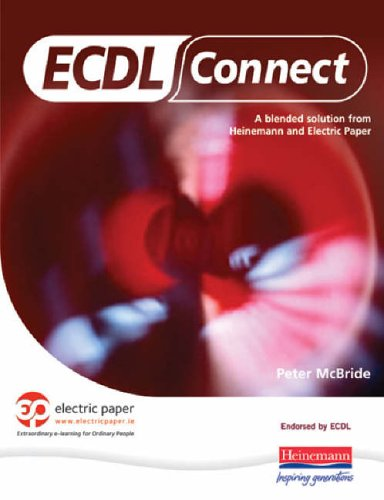 ECDL Connect Student Book & CD-ROM By Peter McBride