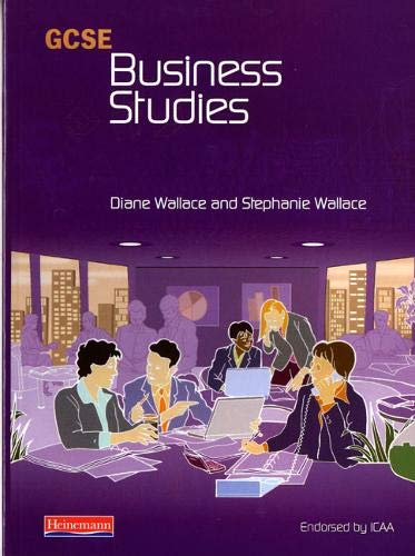 GCSE Business Studies for ICAA Student Book By Diane Wallace