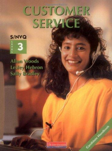 S/NVQ Level 3 Customer Service By Sally Bradley