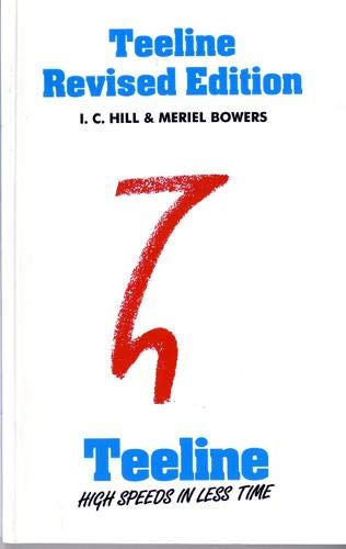 Teeline Revised Edition By I. C. Hill