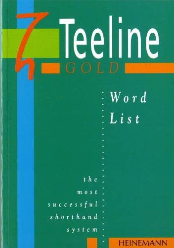 Teeline Gold Word List by Mavis Smith