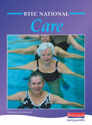 BTEC National in Care Student Book By Moonie Et Al