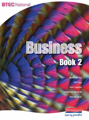 BTEC National Business Book 2 By Neil Richards