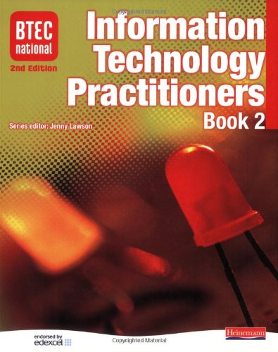 BTEC National IT Practitioners Book 2 By B Wasyliw
