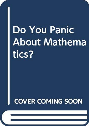 Do You Panic About Mathematics? By Laurie Buxton