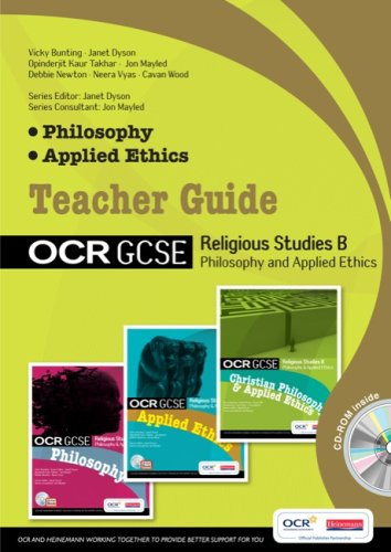 GCSE OCR Religious Studies B : Philosophy & Applied Ethics Teacher Guide with editable CD By Edited by Jon Mayled