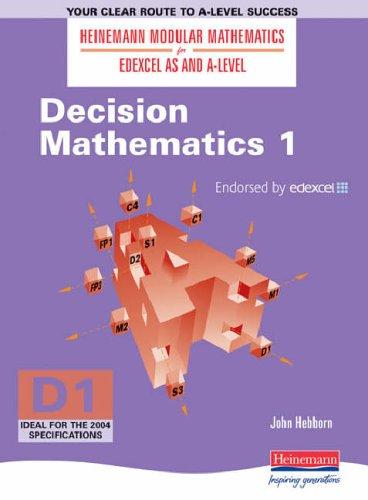Edexcel AS & A Level Maths (Covers Exam D1): No. 1 (Heinemann Modular Mathematics for Edexcel AS and A Level) By John Hebborn