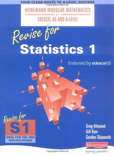 Heinemann Modular Maths for Edexcel Revise for Statistics 1 By Gillian Dyer