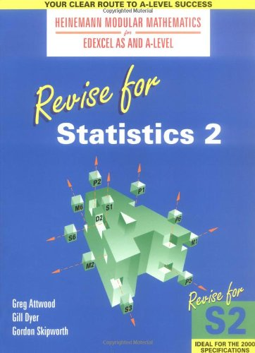 Heinemann Modular Maths for Edexcel Revise for Statistics 2 By Gillian Dyer