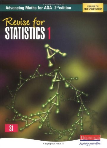 Revise for Advancing Maths for AQA 2nd edition Statistics 1