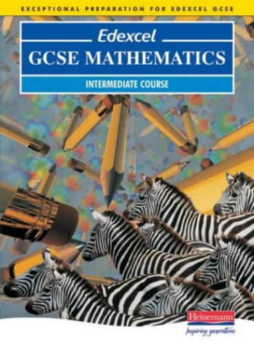Edexcel GCSE Maths Intermediate Students Book By Keith Pledger