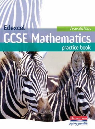 Edexcel GCSE Maths Foundation Practice Book By Edited by Keith Pledger