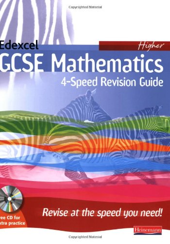 4-Speed Revision for Edexcel GCSE Maths Linear Higher By Edited by Keith Pledger