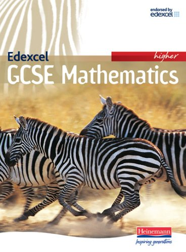 Edexcel GCSE Maths Higher Student Book (whole course) By Edited by Keith Pledger