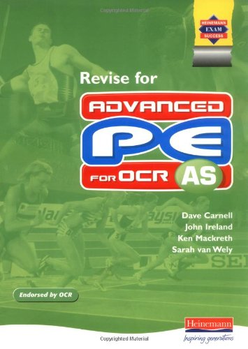 Revise for AS PE for OCR By Daniel Bonney