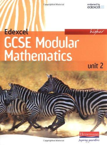 Edexcel GCSE Modular Mathematics 2007 Higher Unit 2 Student Book By Keith Pledger