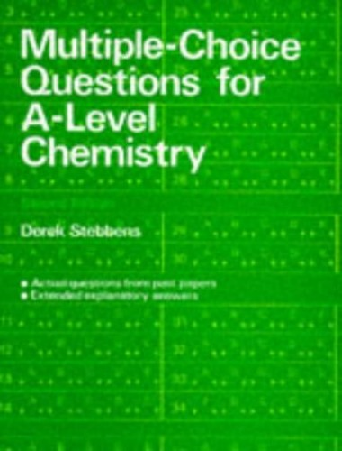 Multiple-Choice Questions for A-level Chemistry  (2nd Edition) By Derek Stebbens