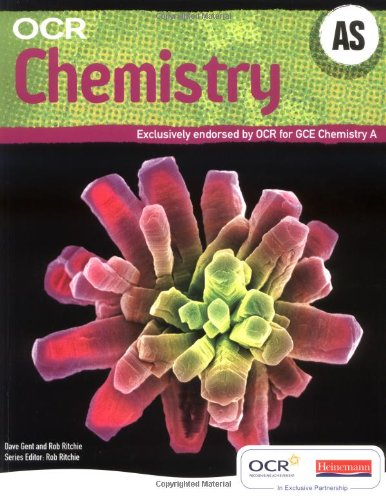 OCR AS Chemistry A Student Book and Exam Cafe CD by Dave Gent