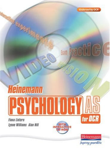 Heinemann Psychology for OCR AS Student Book with CDROM By Edited by Karen Legge