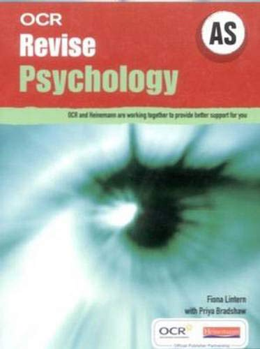 OCR Revise AS Psychology (OCR A Level Psychology) (OCR GCE Psychology) Edited by Fiona Lintern