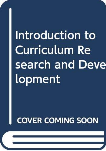 Introduction to Curriculum Research and Devel... by Stenhouse, Lawrence Hardback