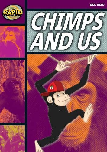Rapid Reading: Chimps and Us (Stage 1, Level 1A) By Dee Reid