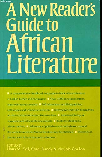 New Readers Guide African Lit  Pap